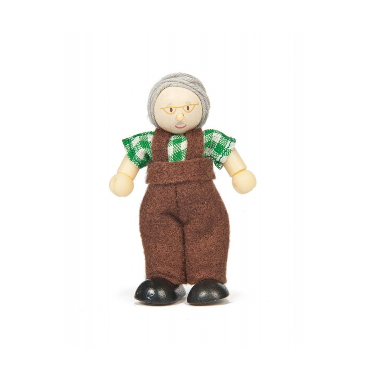 Le Toy Van Budkins Individual Doll House People Le Toy Van Pretend Play Grandpa at Little Earth Nest Eco Shop