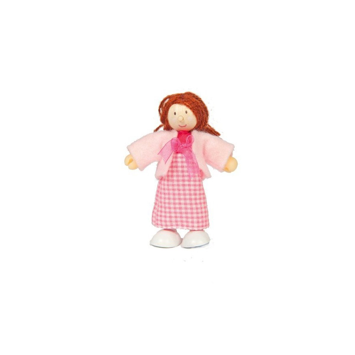 Le Toy Van Budkins Individual Doll House People Le Toy Van Pretend Play Mum at Little Earth Nest Eco Shop