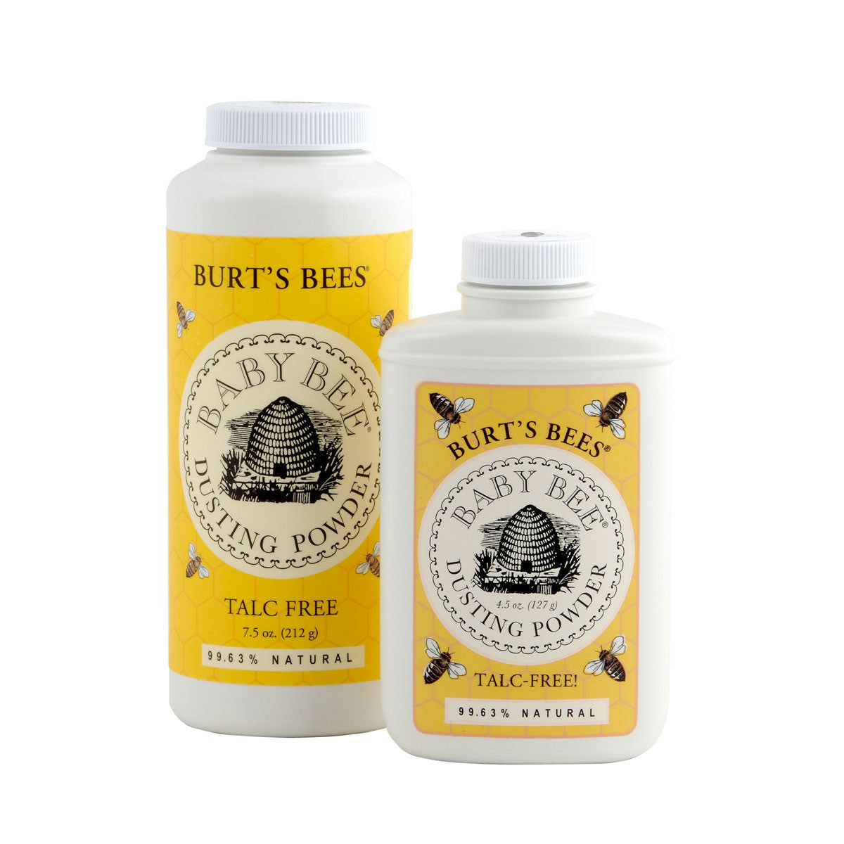 Burts Bees Baby Bee Dusting Powder Burts Bees Nappy Rash Treatments 210g at Little Earth Nest Eco Shop
