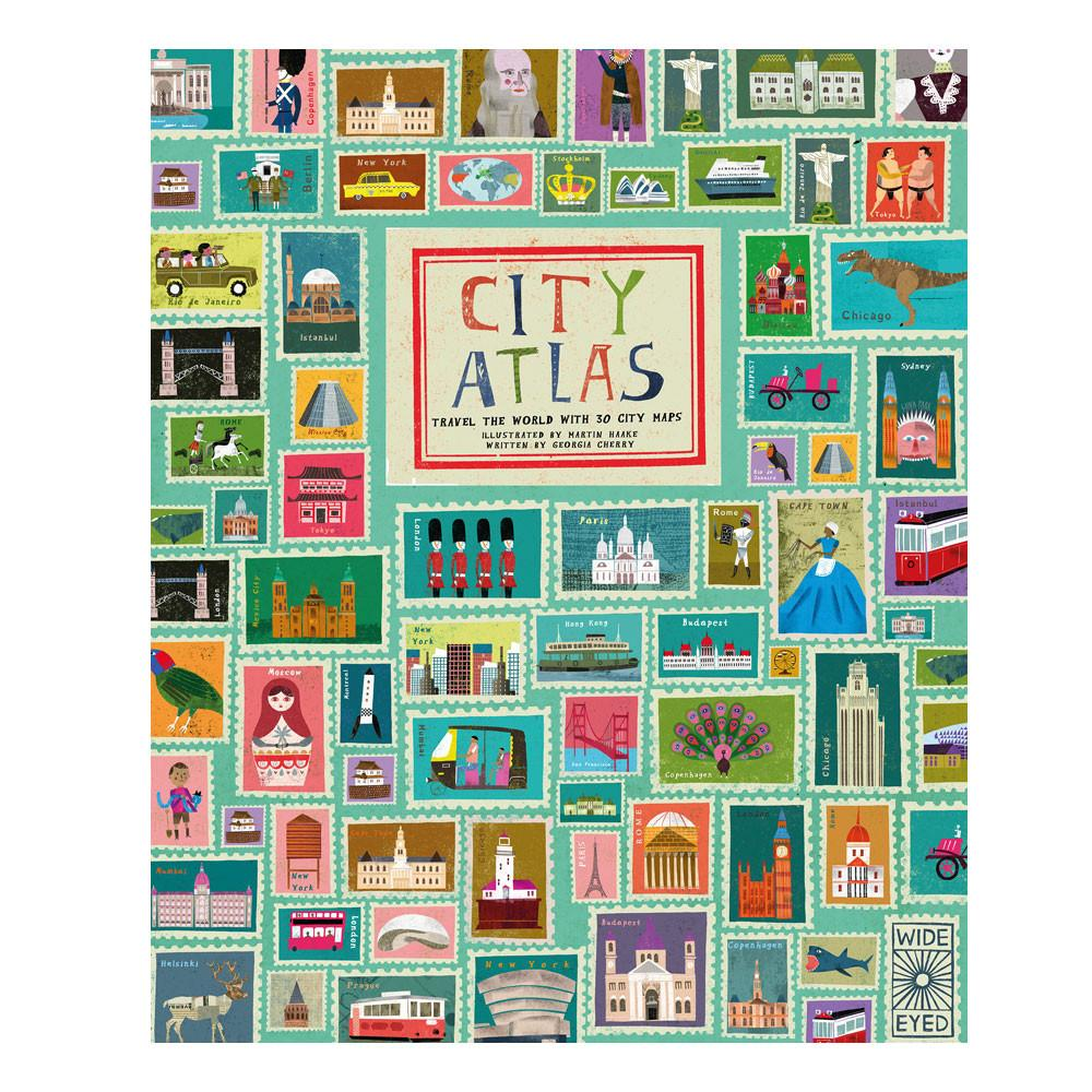 City Atlas Childrens Book Little Earth Nest Books at Little Earth Nest Eco Shop