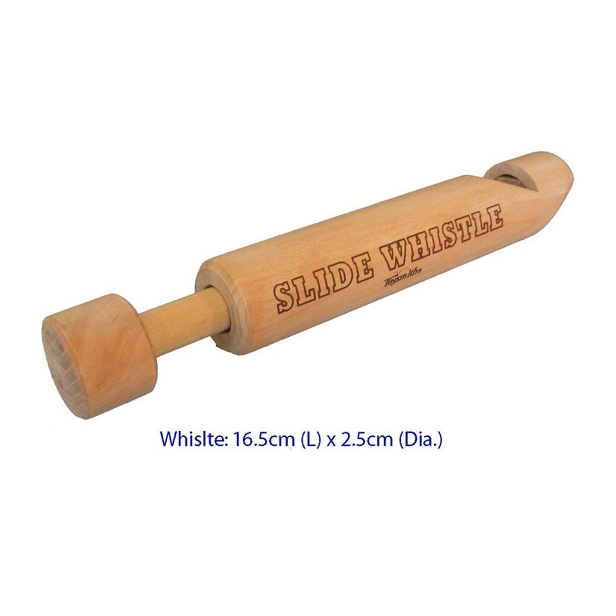 Classic Wooden Slide Whistle Fun Factory Musical Toys at Little Earth Nest Eco Shop