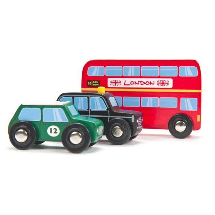 British Classics Car Set Indigo Jamm Play Vehicles at Little Earth Nest Eco Shop