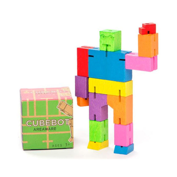 Cubebots David Weeks Studio Activity Toys at Little Earth Nest Eco Shop