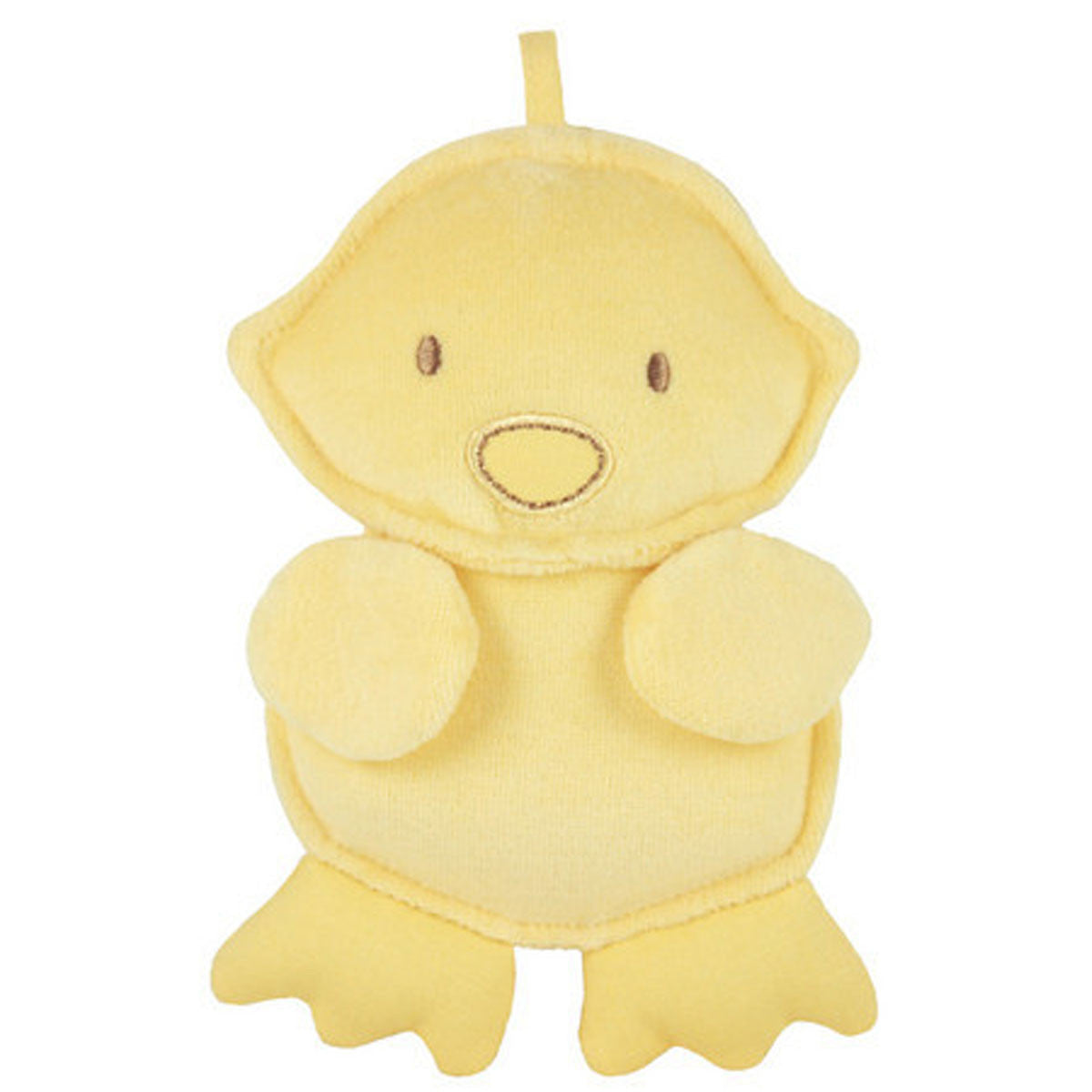 Dandelion Organic Cotton Duck Squeaker Dandelion Toys at Little Earth Nest Eco Shop