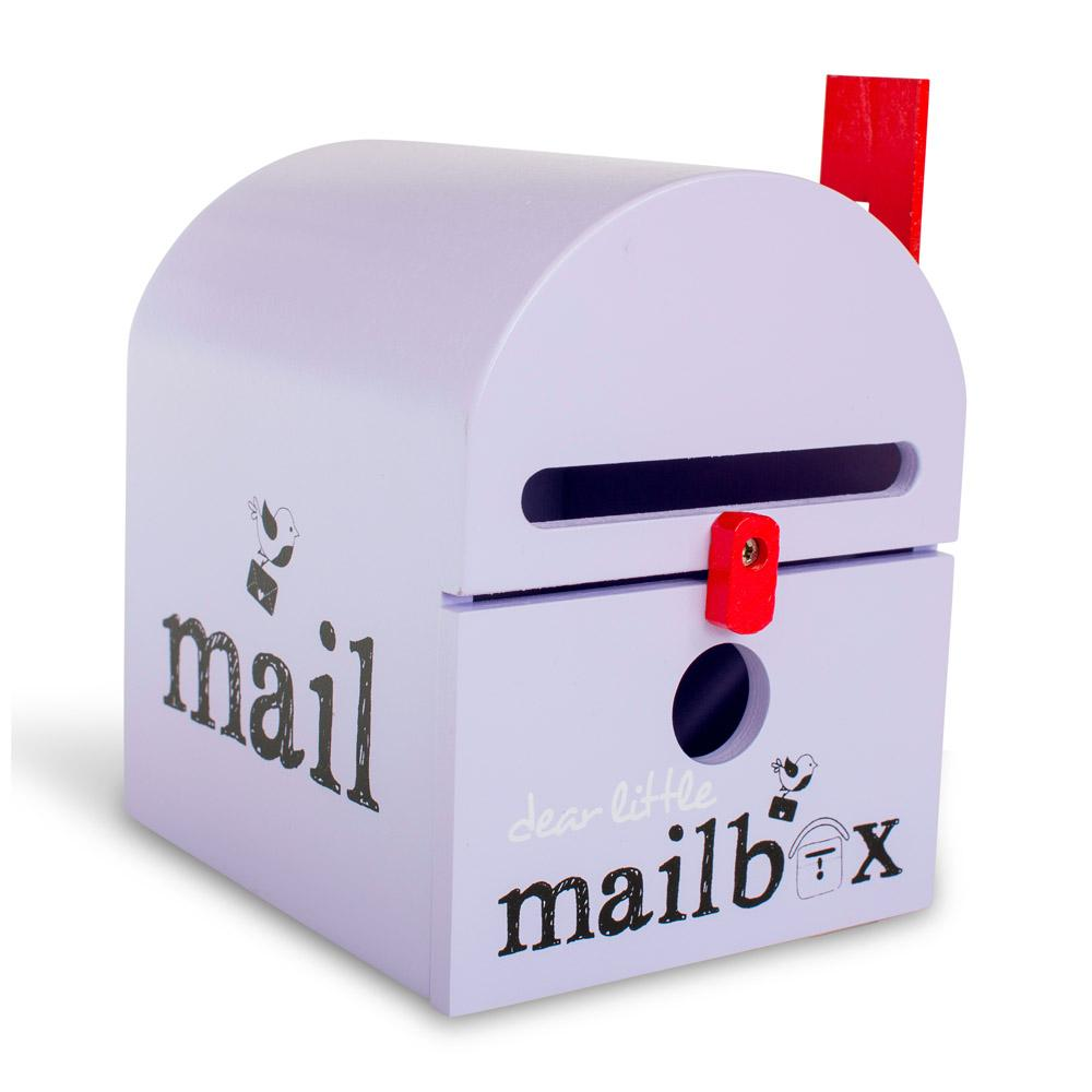 Dear Little Mailbox Dear Little Designs Activity Toys Purple at Little Earth Nest Eco Shop