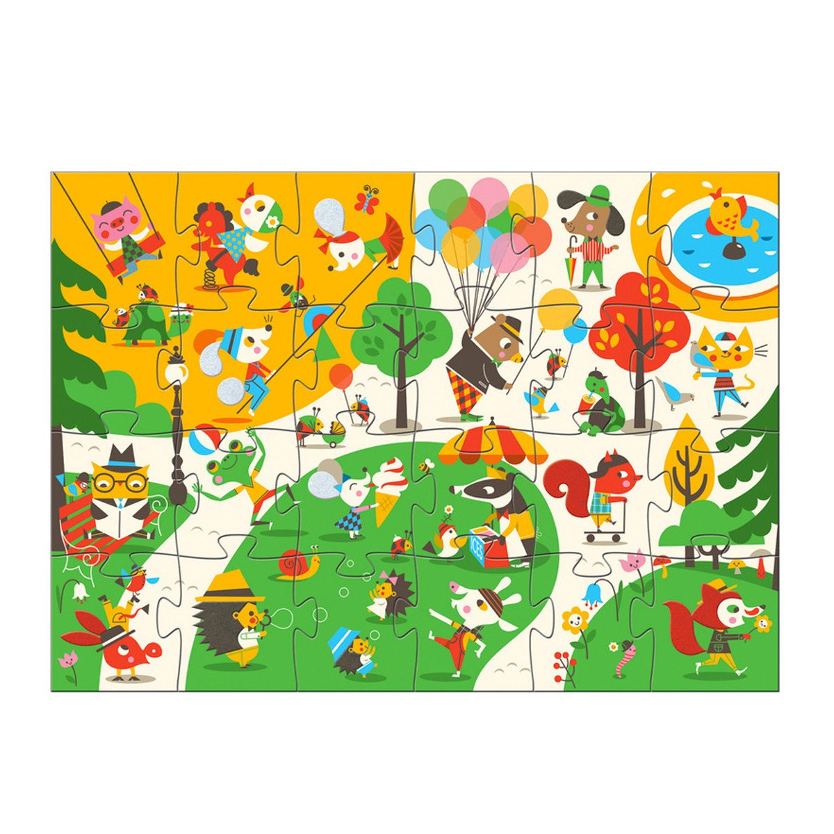 Djeco Giant Puzzle Flocky   - Djeco - Little Earth Nest - 1