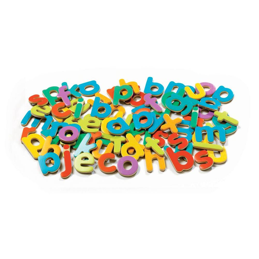 Djeco Magnetic Wooden Letters Djeco Magnet Toys at Little Earth Nest Eco Shop