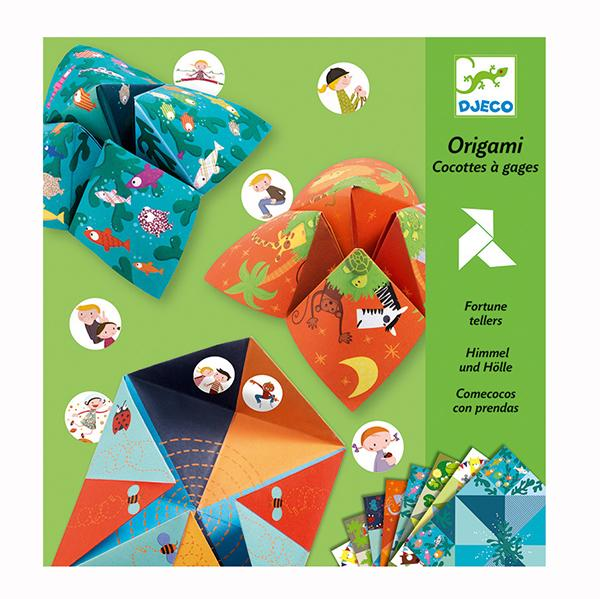 Djeco Origami Fortune Teller Djeco Art and Craft Kits at Little Earth Nest Eco Shop