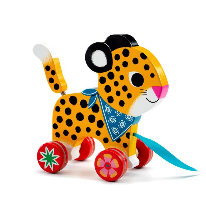 Djeco Greta Pull Along Toy Djeco Push and Pull Toys at Little Earth Nest Eco Shop