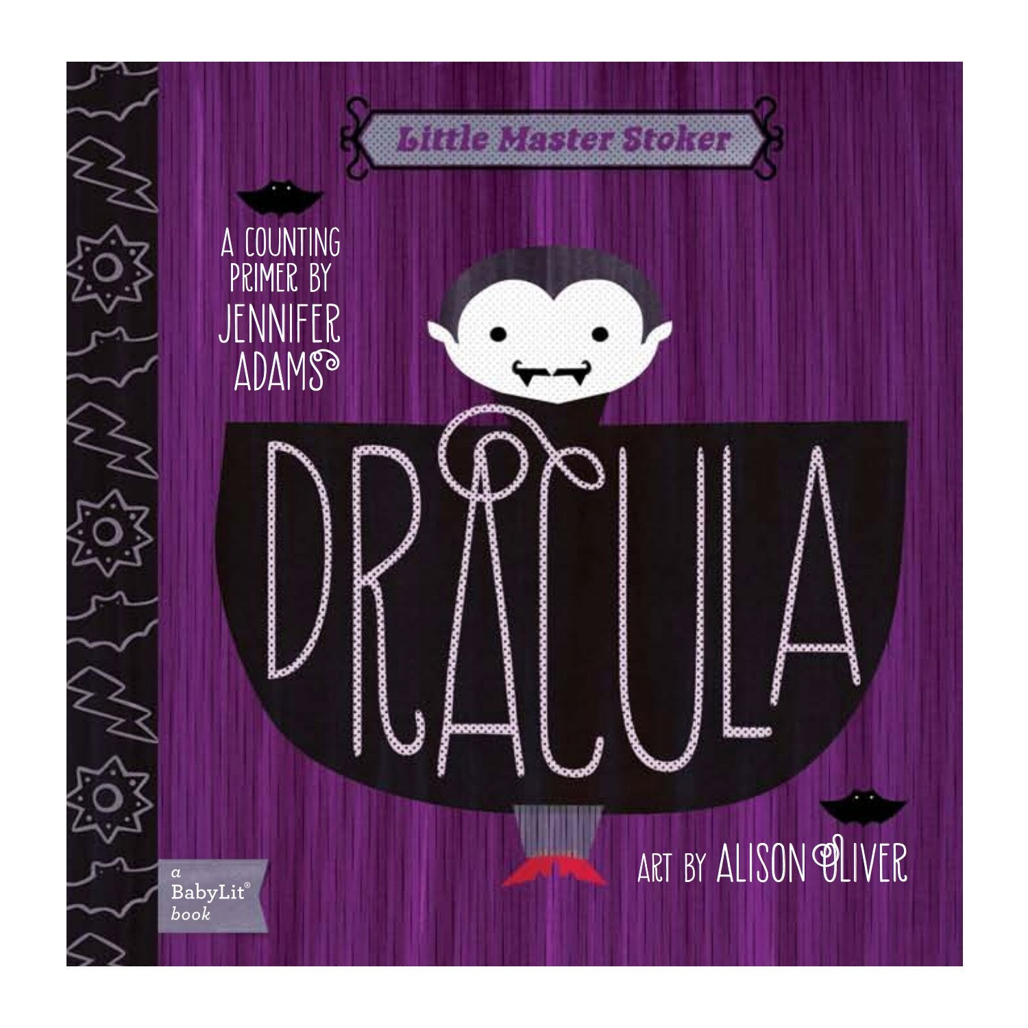 Dracula A Counting Baby Board Book Babylit Books at Little Earth Nest Eco Shop