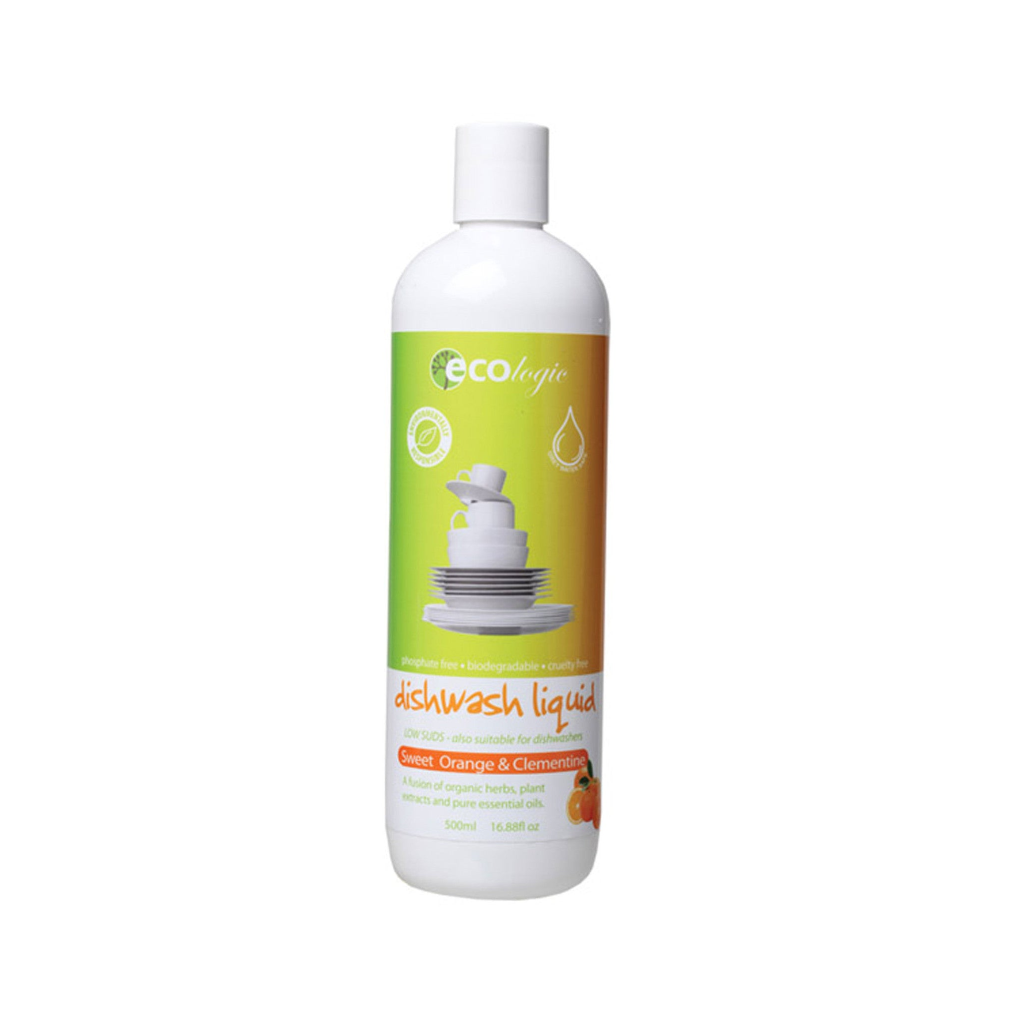 Ecologic Dishwashing Liquid Natural Dishwashing Ecologic Household Cleaning Supplies at Little Earth Nest Eco Shop