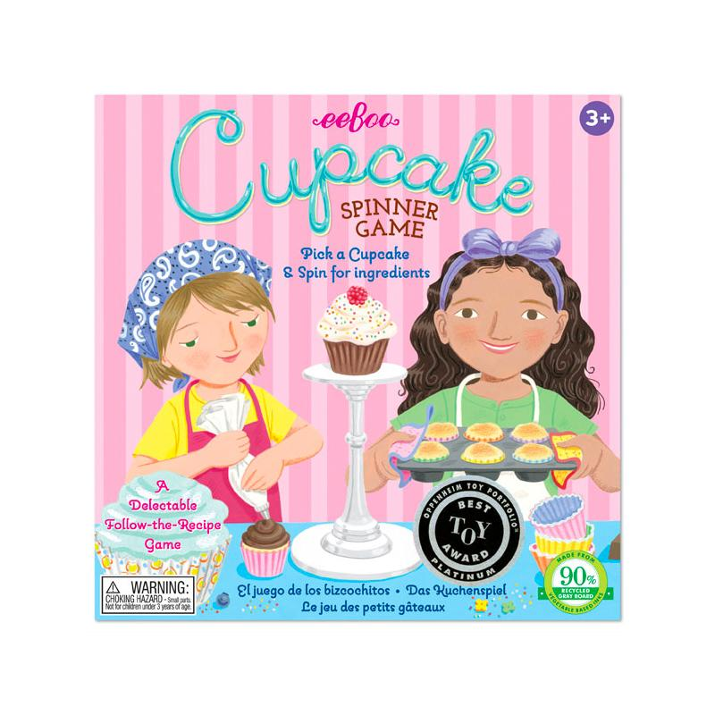 Cupcake Board Game Eeboo Games at Little Earth Nest Eco Shop