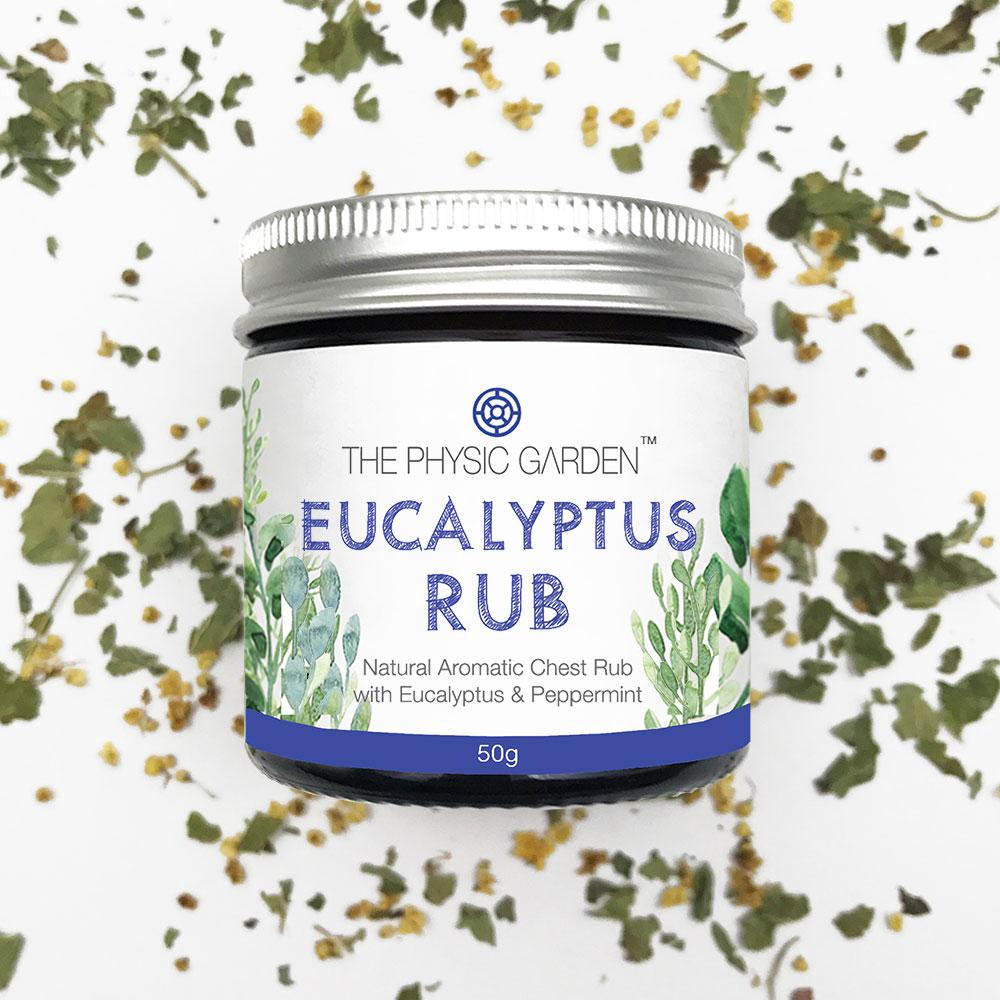 Eucalyptus Rub by Physic Garden The Physic Garden Bath and Body at Little Earth Nest Eco Shop