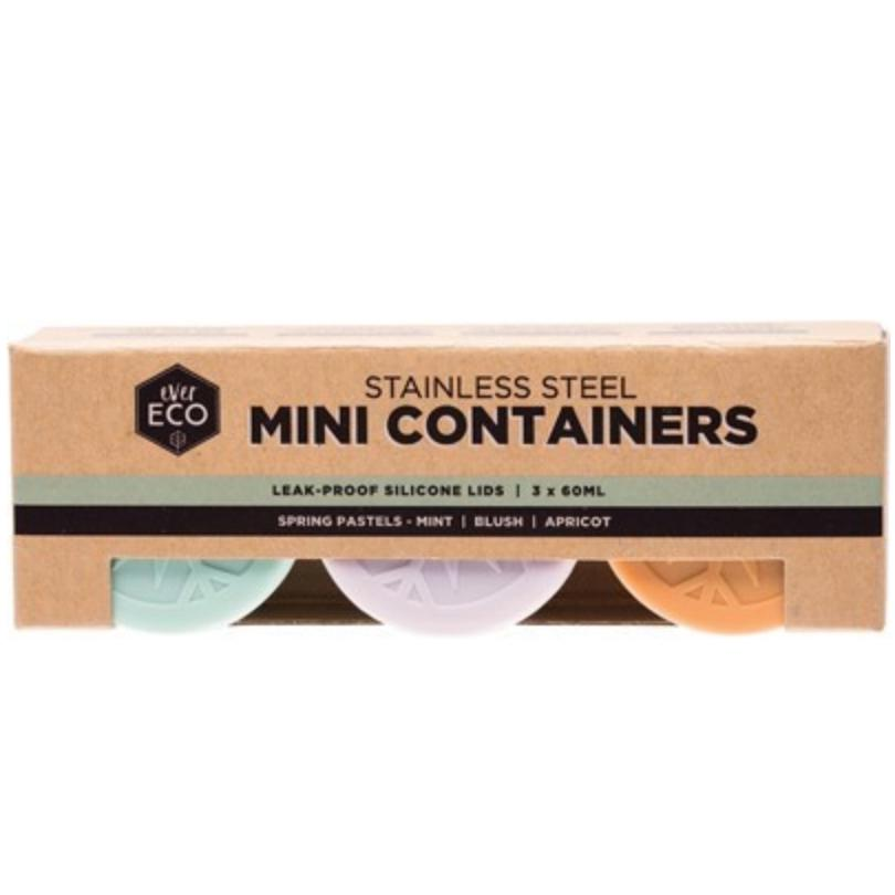 Ever Eco Stainless Steel Mini Containers