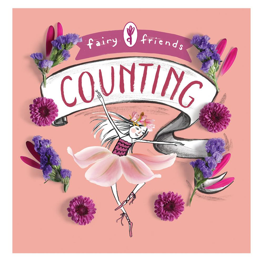 Fairy Friends Counting Baby Board Book Babylit Books at Little Earth Nest Eco Shop