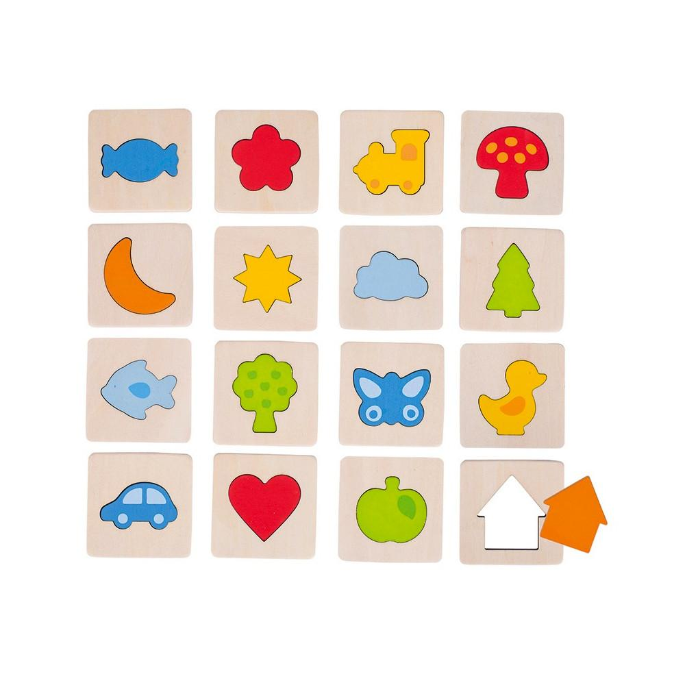 Goki Touch Memory Game Goki Games at Little Earth Nest Eco Shop