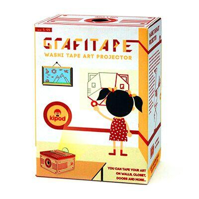 Kipod Grafitape Projector Kipod Art and Craft Kits at Little Earth Nest Eco Shop
