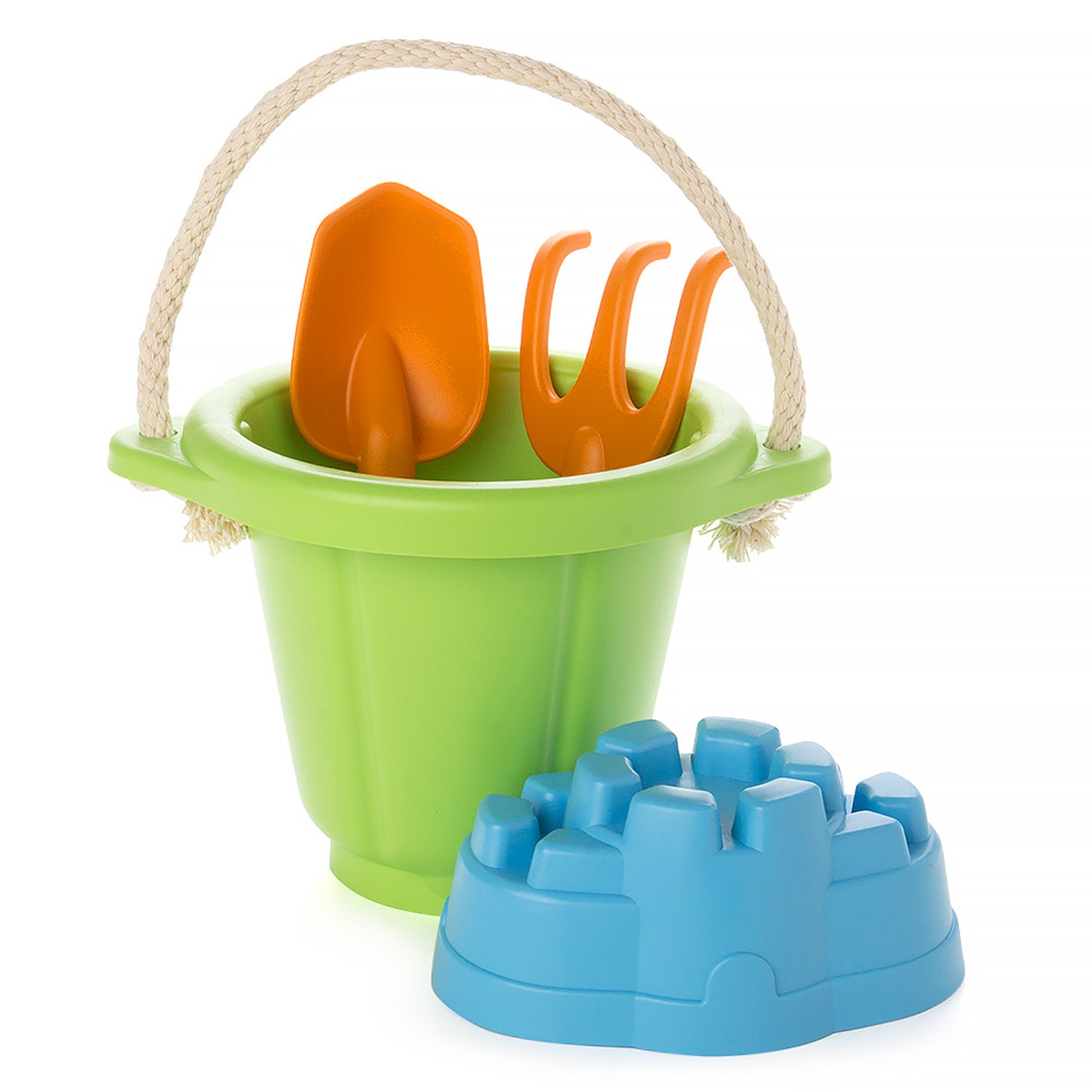 Green Toys Beach Set Green Toys Beach and Sand Toys Green at Little Earth Nest Eco Shop