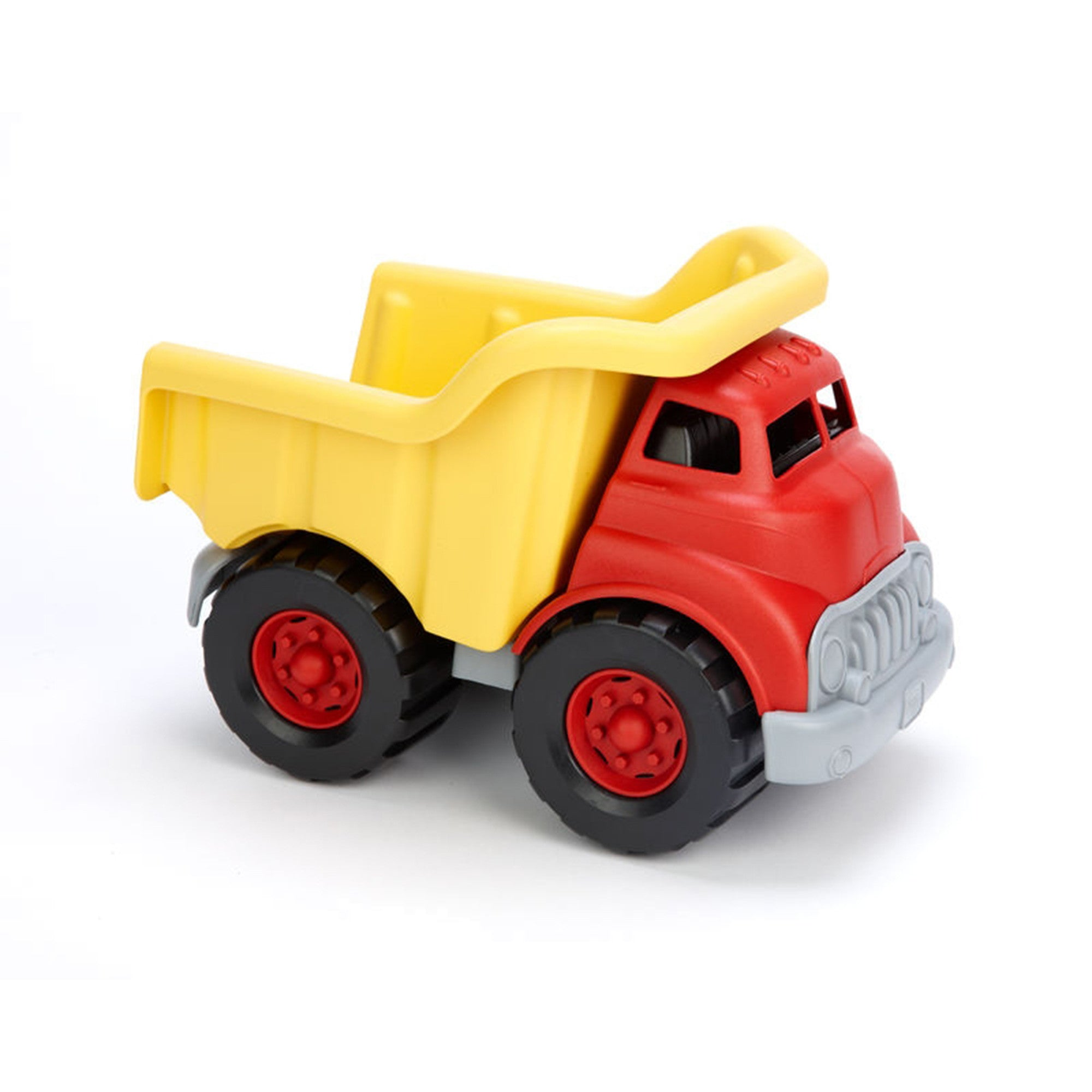 Green Toys Dump Truck Green Toys Play Vehicles Red/Yellow at Little Earth Nest Eco Shop