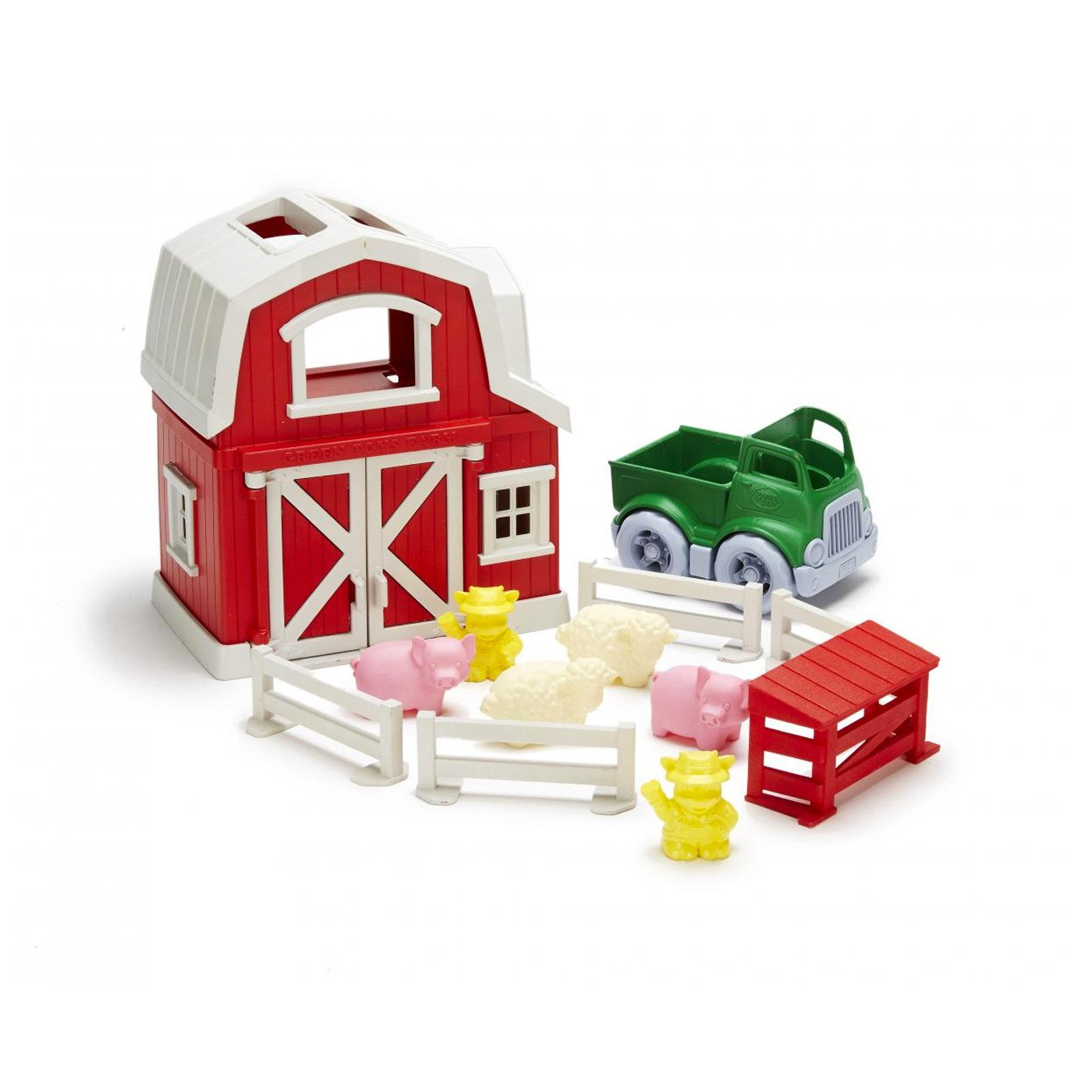 Green Toys Farm Play Set Green Toys Activity Toys at Little Earth Nest Eco Shop