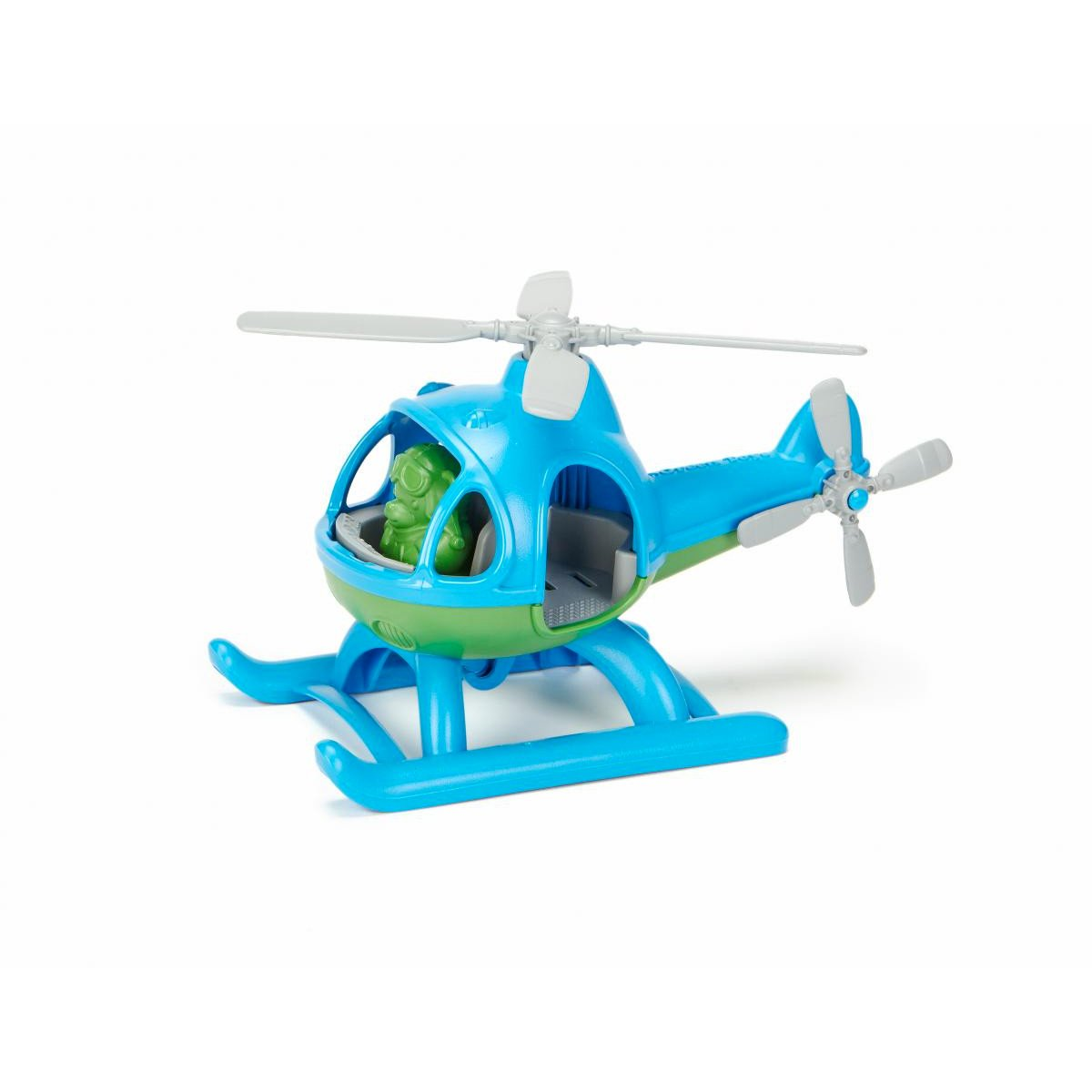 Green Toys Helicopter Green Toys Beach and Sand Toys at Little Earth Nest Eco Shop