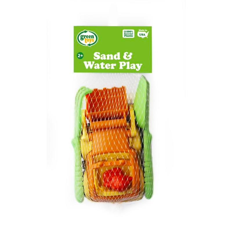 Green Toys Sand and Water Play Truck and Scooper Set