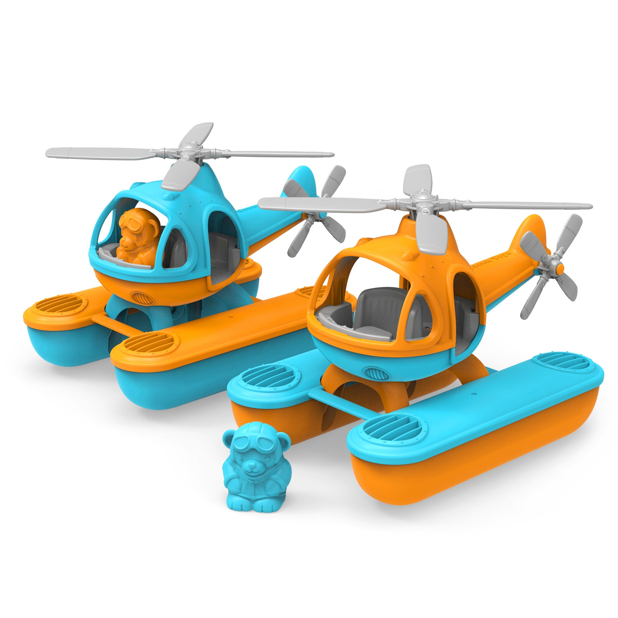 Green Toys Sea Copter Green Toys Play Vehicles at Little Earth Nest Eco Shop