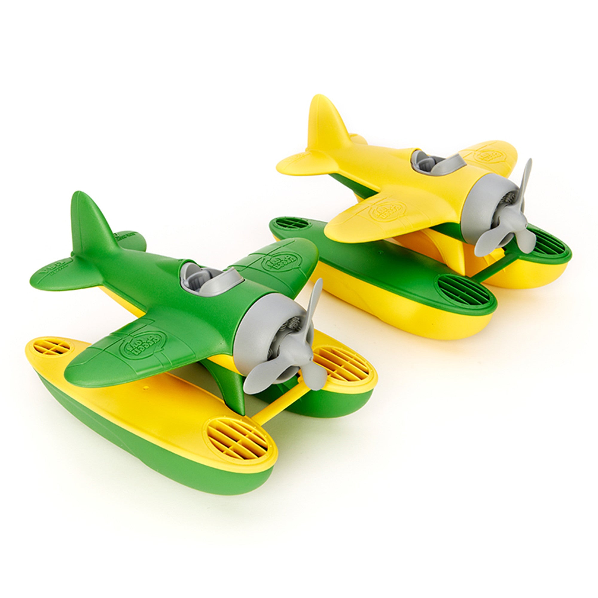 Green Toys Seaplane Green Toys Bath Toys at Little Earth Nest Eco Shop