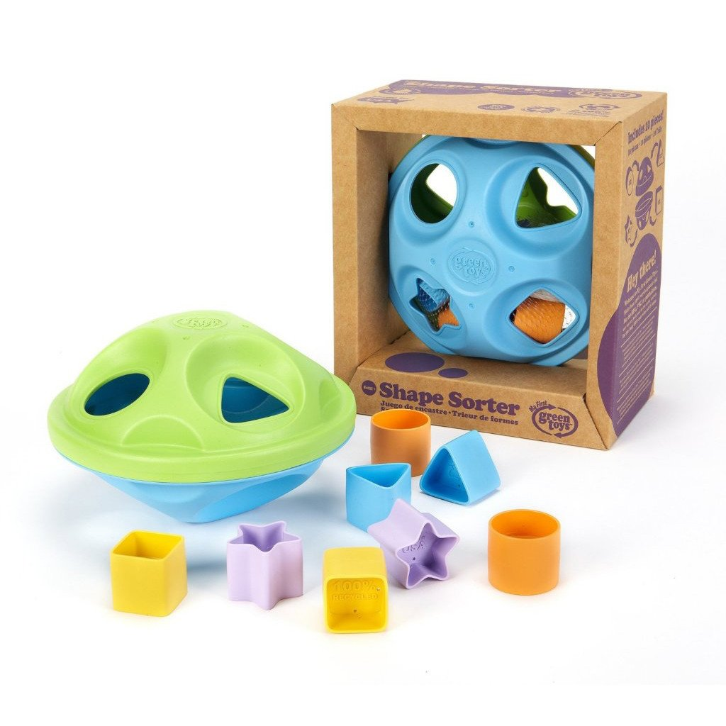 Green Toys Shape Sorter Green Toys Activity Toys at Little Earth Nest Eco Shop