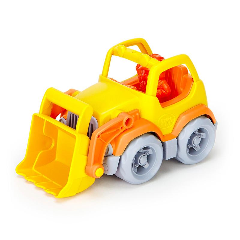 Green Toys Dump Truck with Scooper and Tools