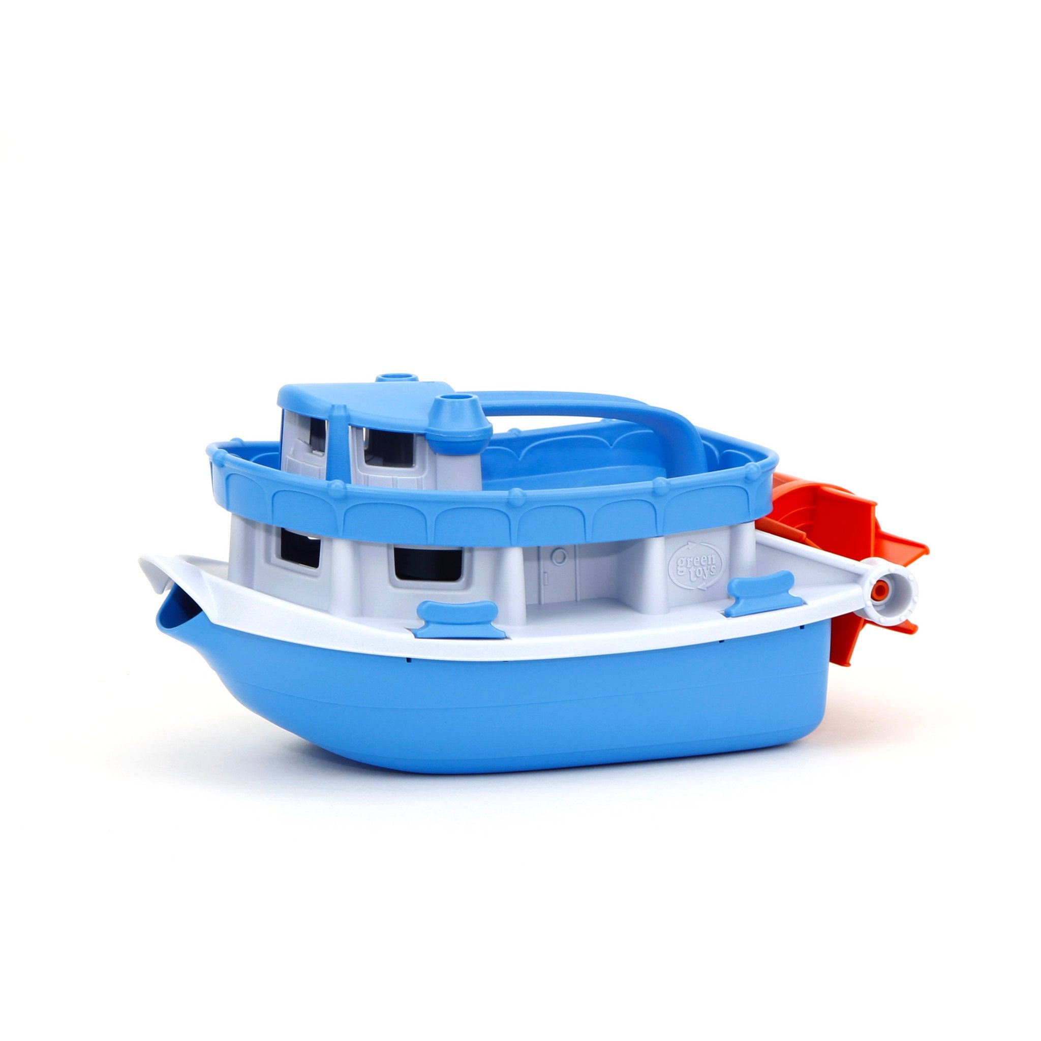 Green Toys Paddle Boat Green Toys Play Vehicles at Little Earth Nest Eco Shop