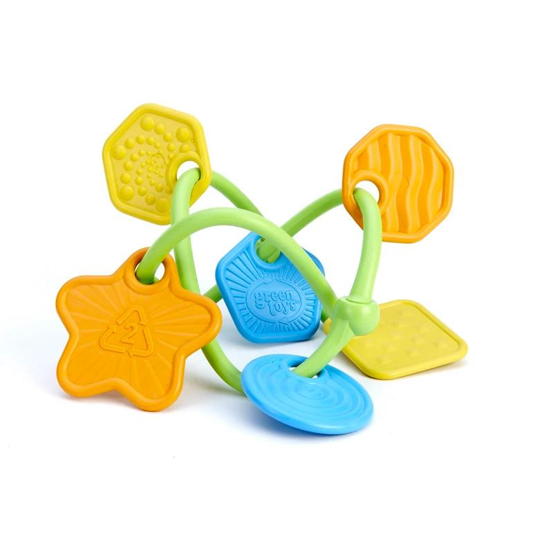 Green Toys Twist Teether Green Toys Dummies and Teethers at Little Earth Nest Eco Shop