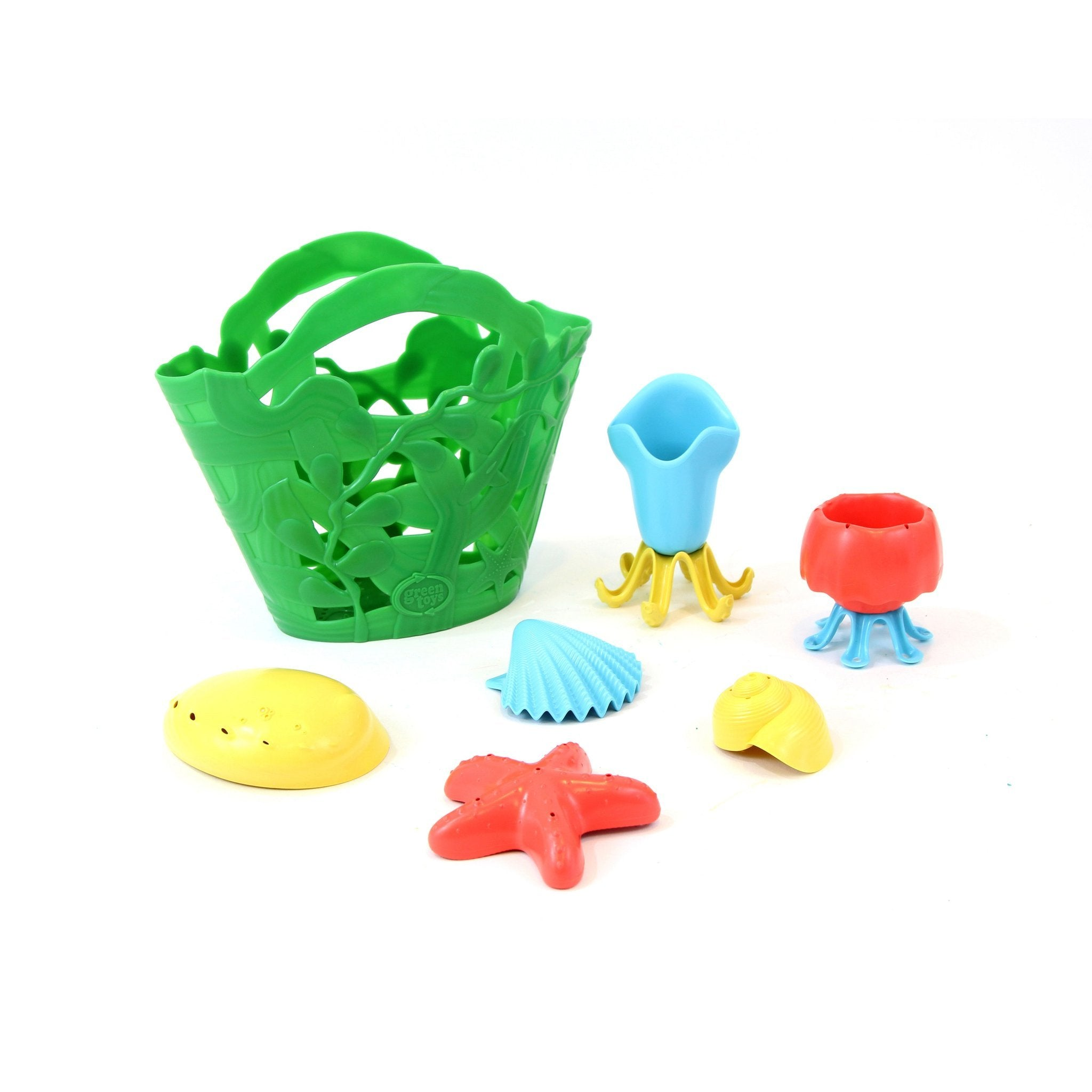 Green Toys Tide Pool Bath Set Green Toys Beach and Sand Toys Green at Little Earth Nest Eco Shop
