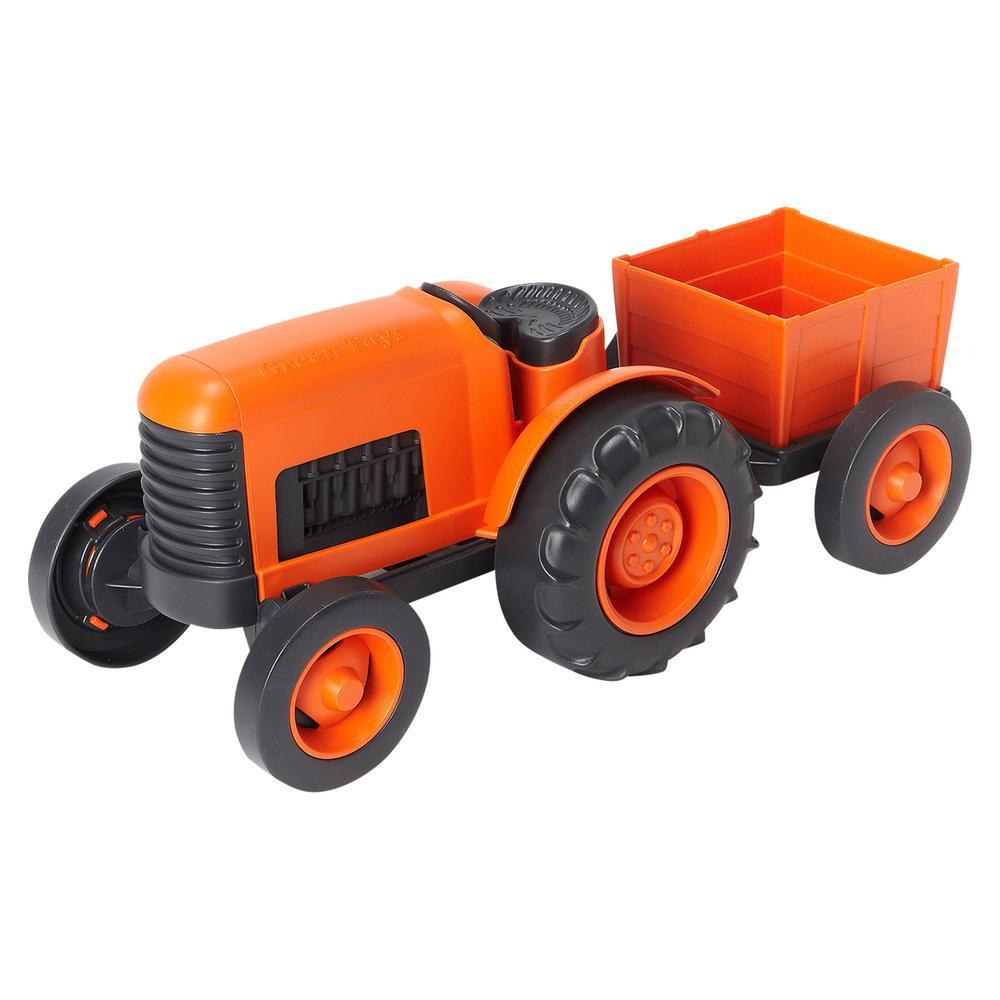 Green Toys Tractor Green Toys Toy Cars at Little Earth Nest Eco Shop