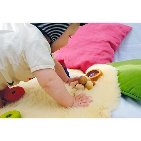 Grimms Natural Bead Grasper Grimms Baby Activity Toys at Little Earth Nest Eco Shop