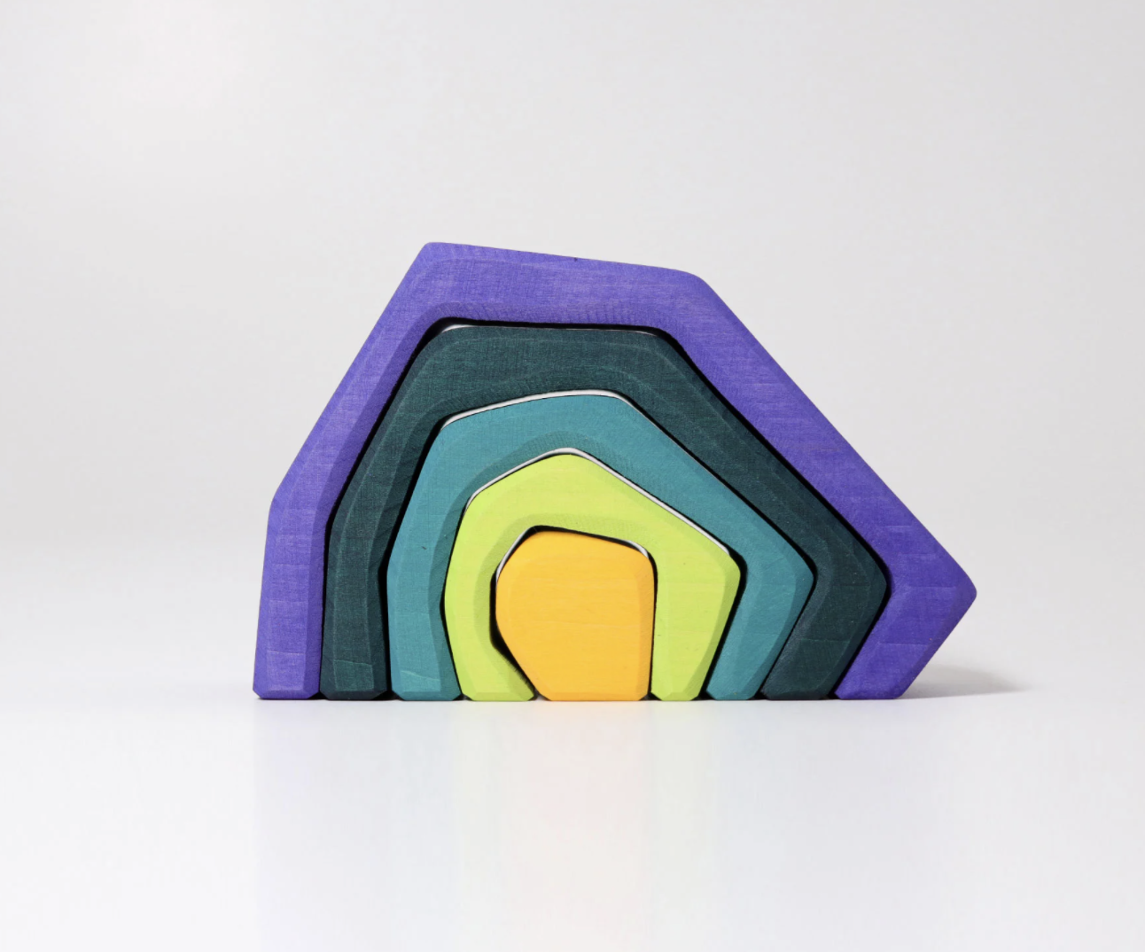Grimms Stacking Earth Element Grimm Wooden Toys at Little Earth Nest Eco Shop