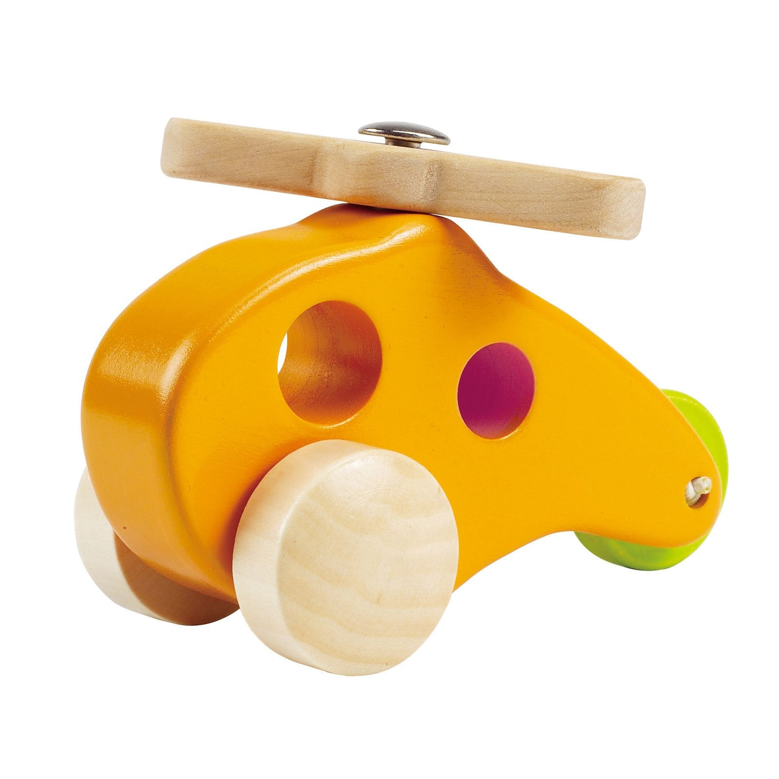 Hape Little Helicopter Hape Play Vehicles at Little Earth Nest Eco Shop
