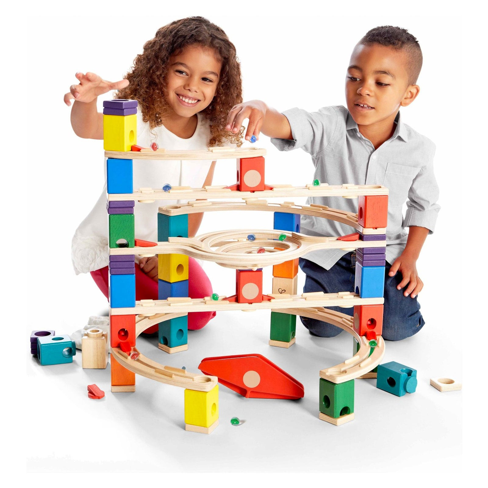Hape Loop de Loop Marble Run Hape Activity Toys at Little Earth Nest Eco Shop