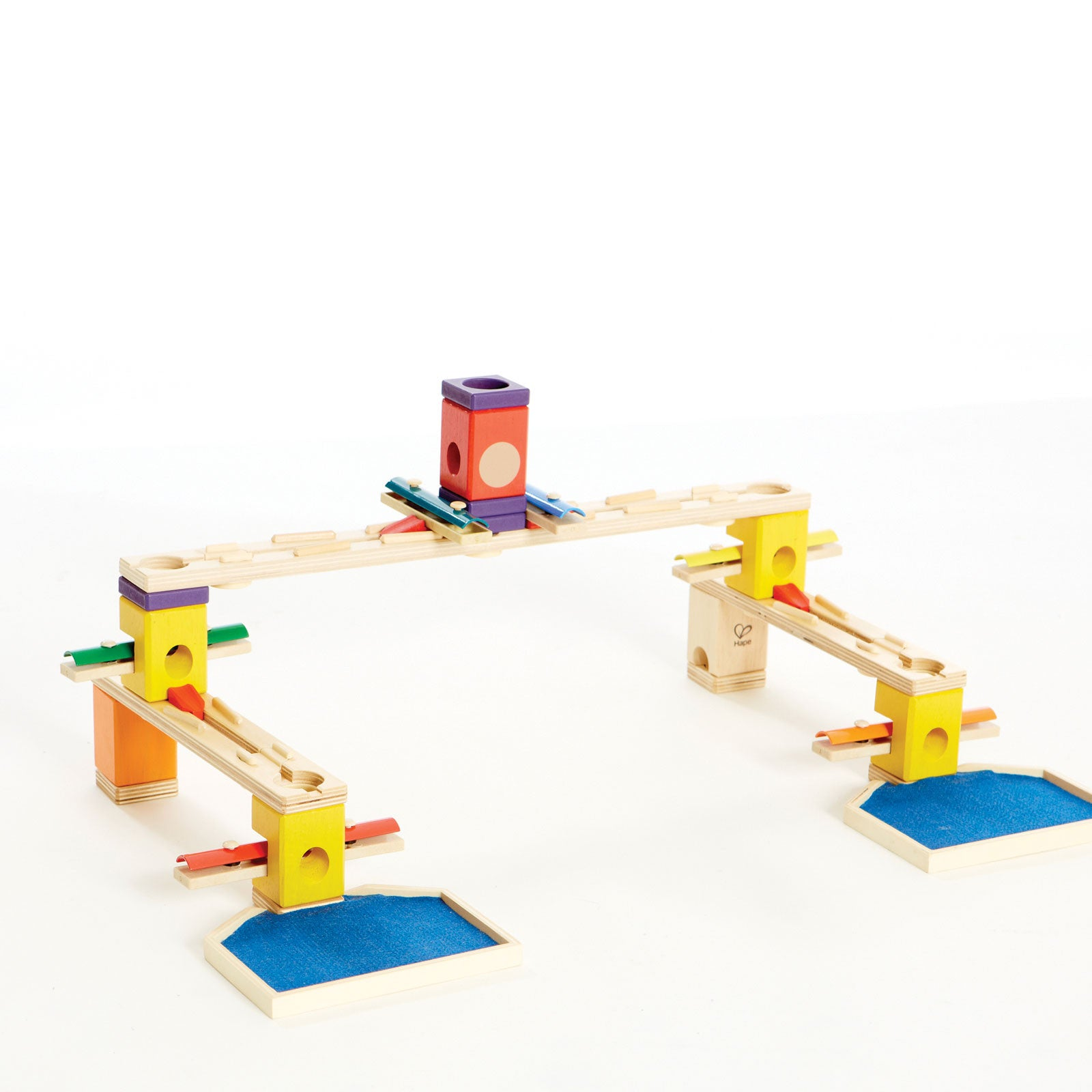 Hape Quadrilla Music Motion Marble Run Hape Musical Toys at Little Earth Nest Eco Shop