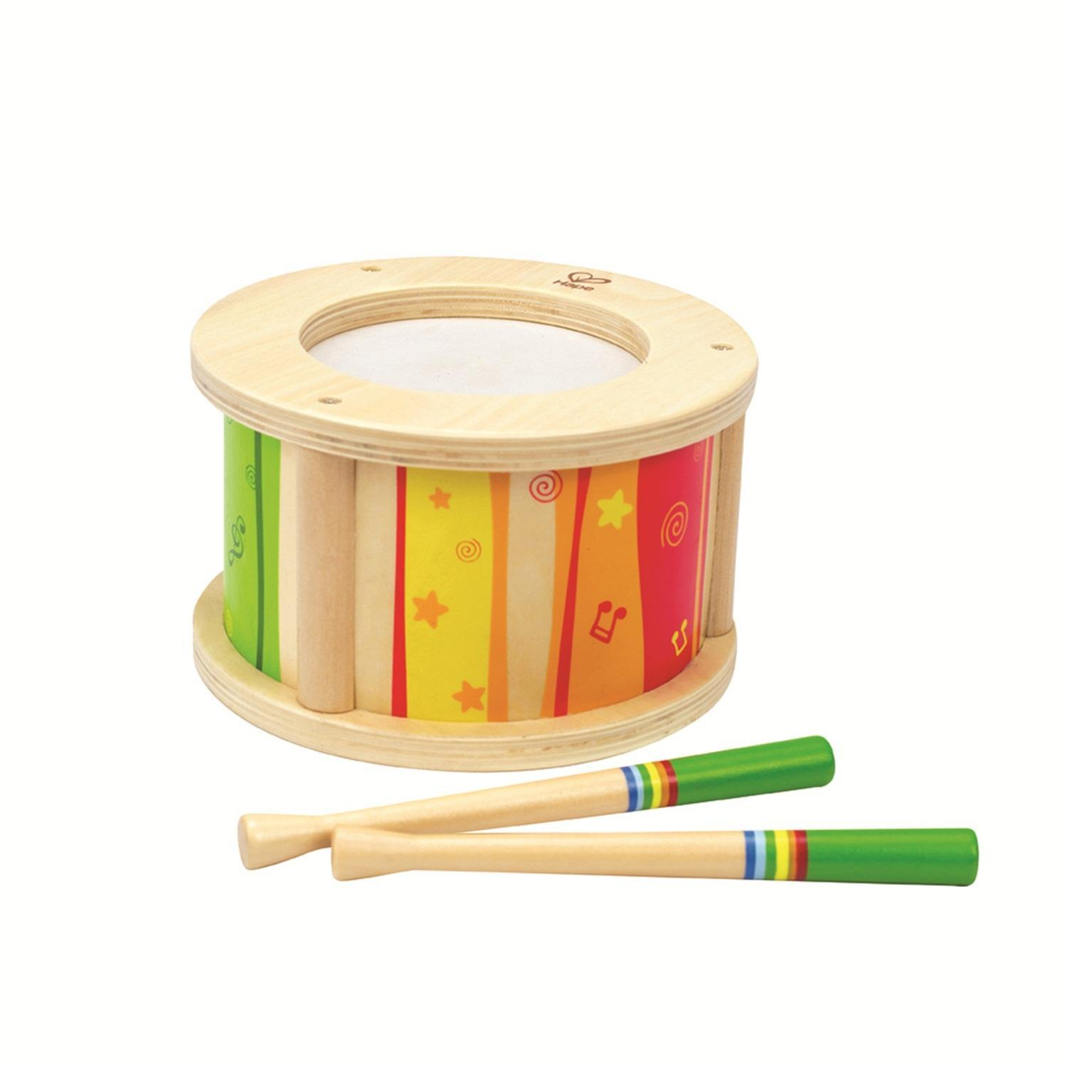 Hape Early Melodies Drum Hape Musical Toys at Little Earth Nest Eco Shop