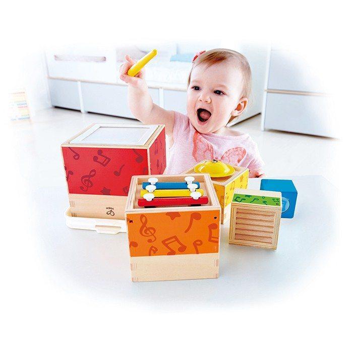 Hape Multi Music Stacking Set