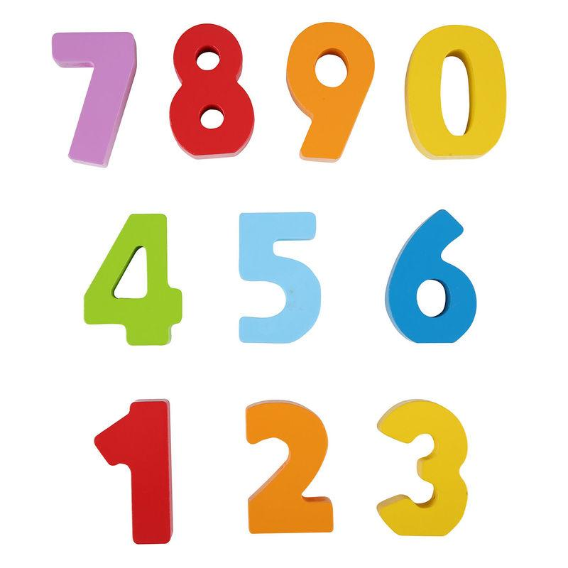 Hape Numbers and Colours Hape Wooden Blocks at Little Earth Nest Eco Shop