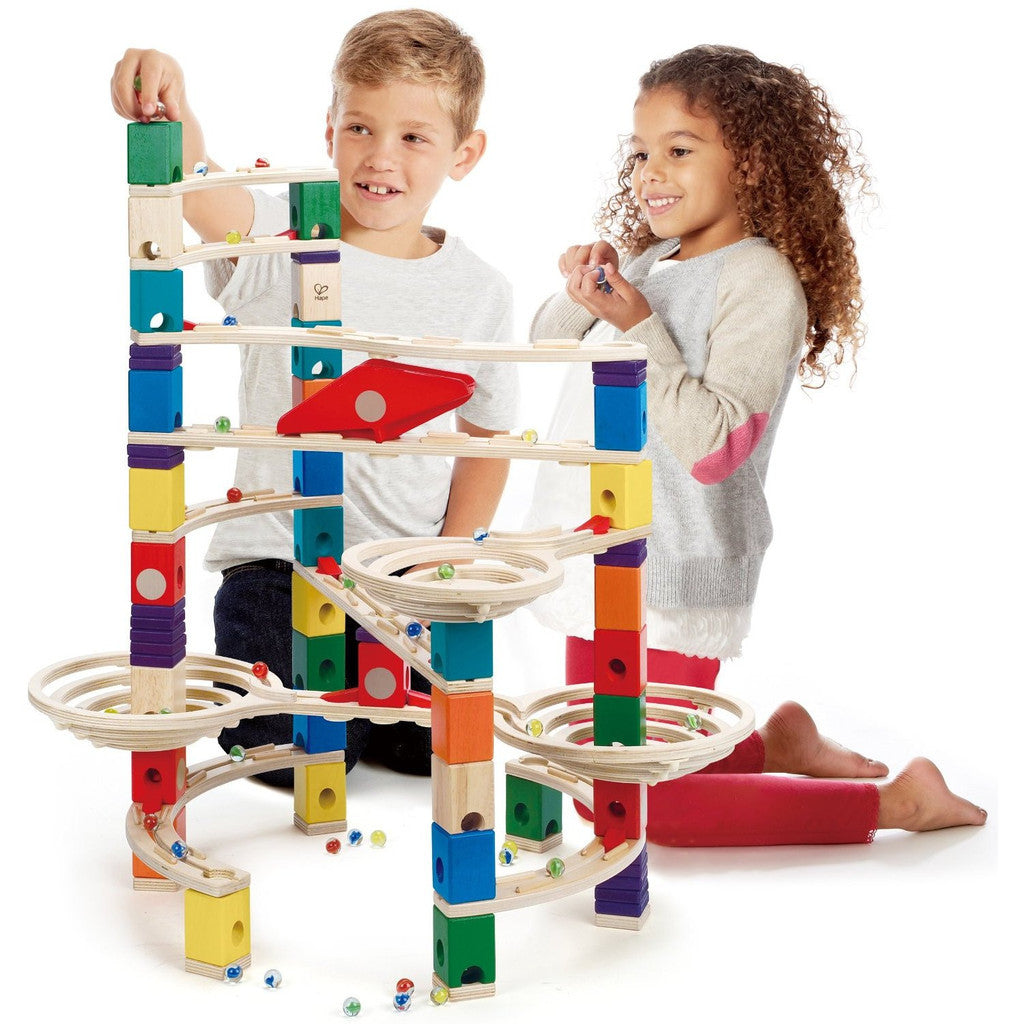 Hape Quadrilla Challenger Marble Run Hape Activity Toys at Little Earth Nest Eco Shop