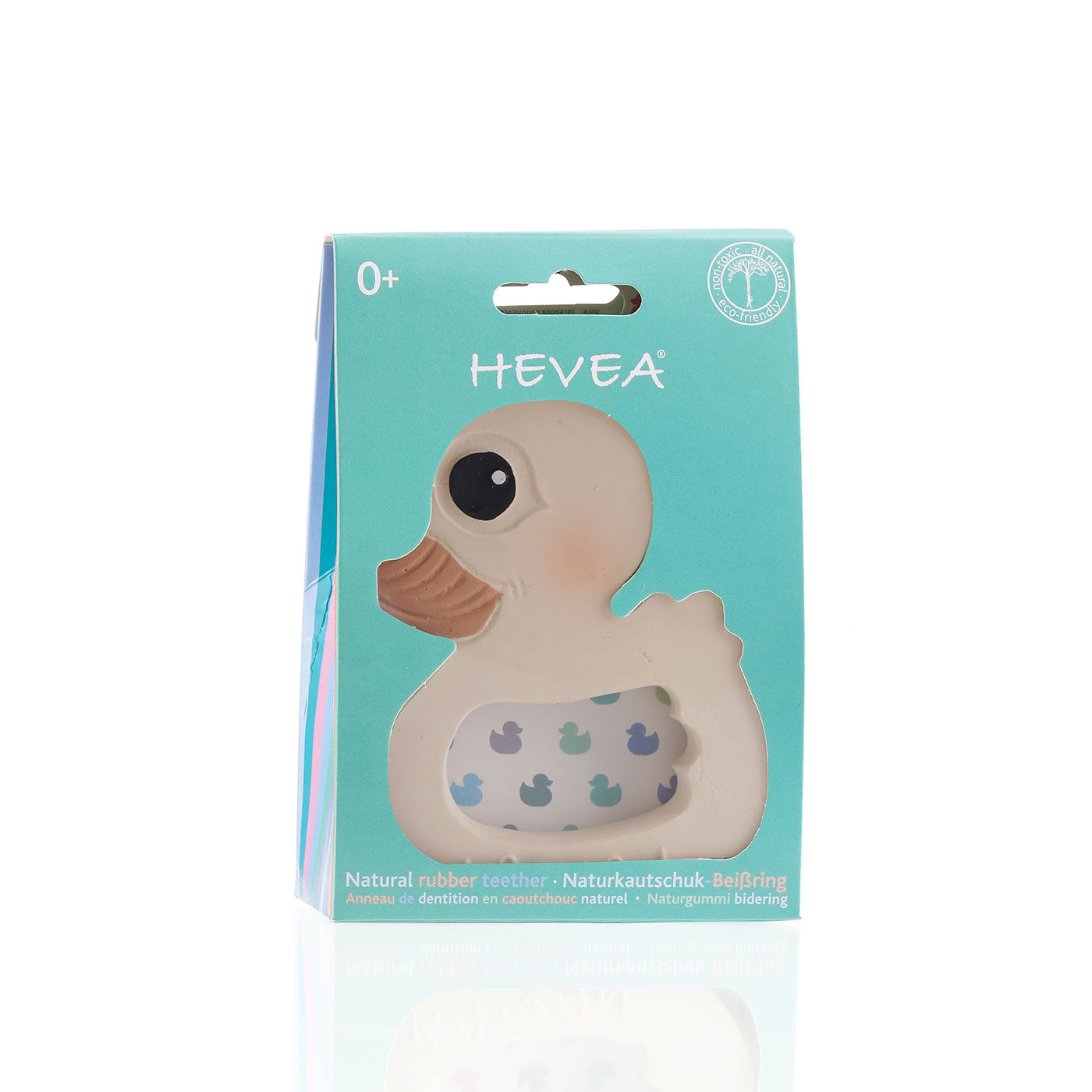 Hevea Kawan Teether Toy Hevea Baby Dummies and Teethers at Little Earth Nest Eco Shop