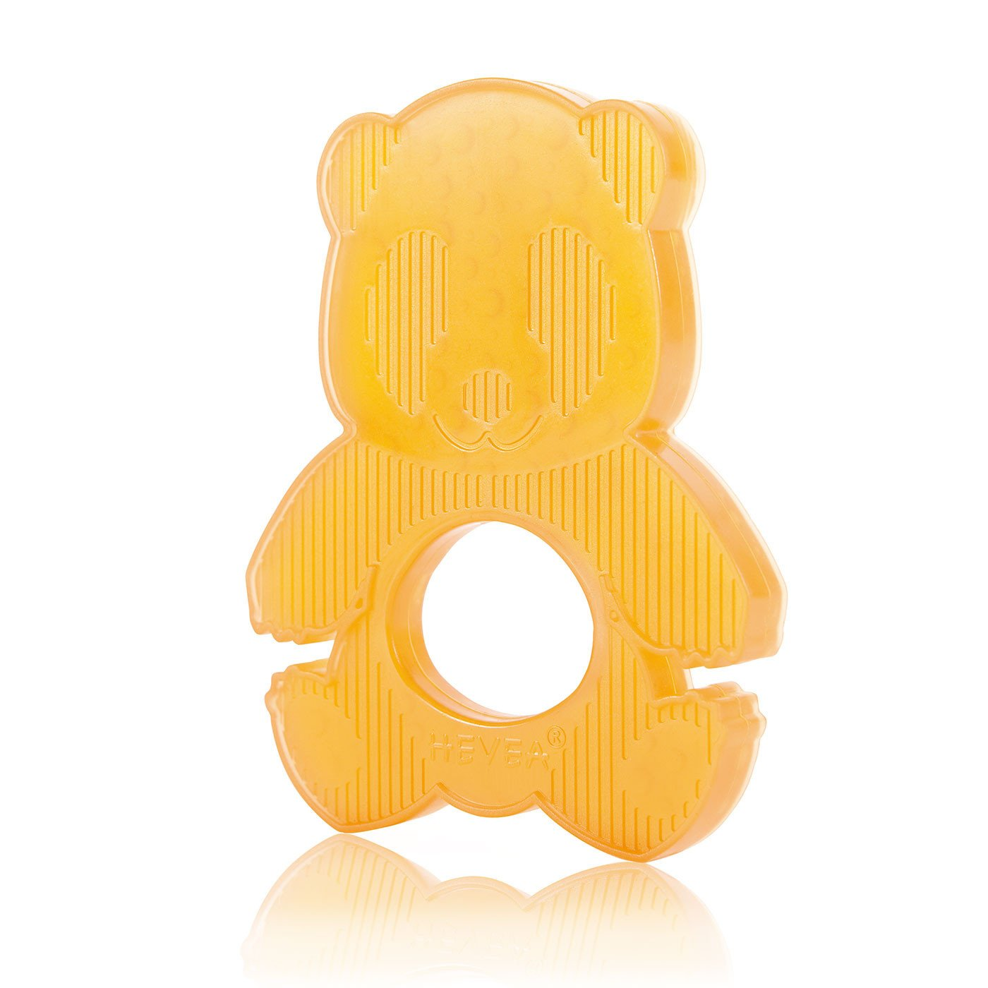 Hevea Natural Rubber Panda Teether Hevea Baby Bath Toys at Little Earth Nest Eco Shop