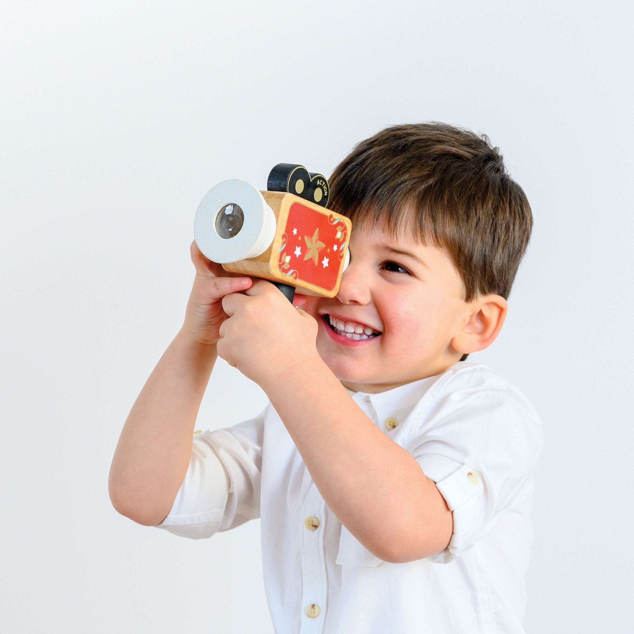 Le Toy Van Honeybake Toy Video Camera Le Toy Van Wooden Toys at Little Earth Nest Eco Shop