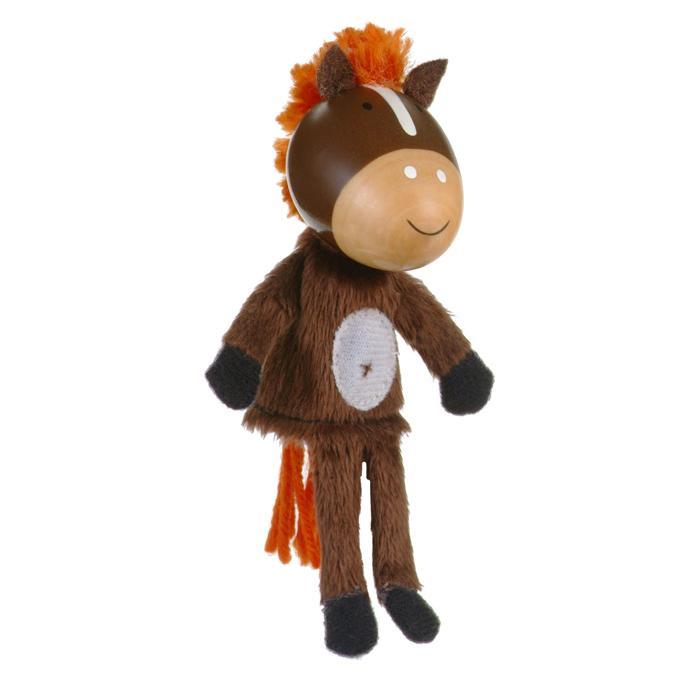 Boutique Finger Puppets Fiesta Crafts Toys Horse at Little Earth Nest Eco Shop