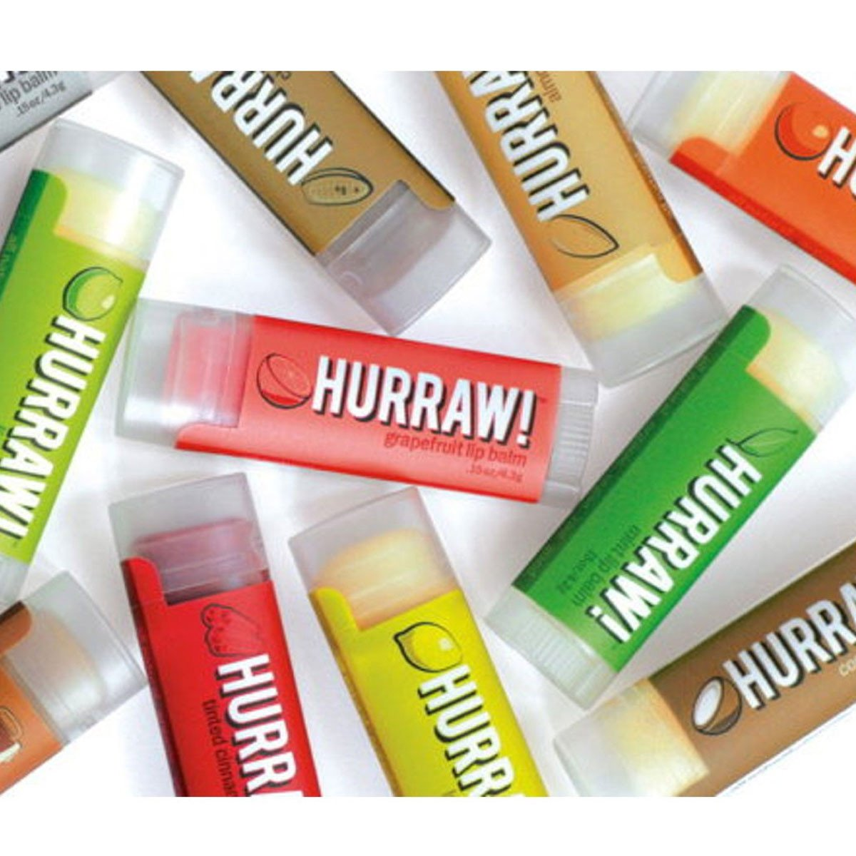 Hurraw Organic and Natural Lip Balm 4.3g Hurraw Lip Balms and Treatments at Little Earth Nest Eco Shop