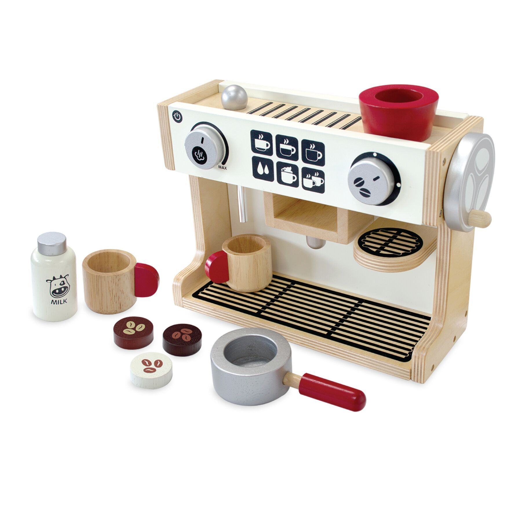 I'm Toy Barista Coffee Machine Im Toy Pretend Play at Little Earth Nest Eco Shop