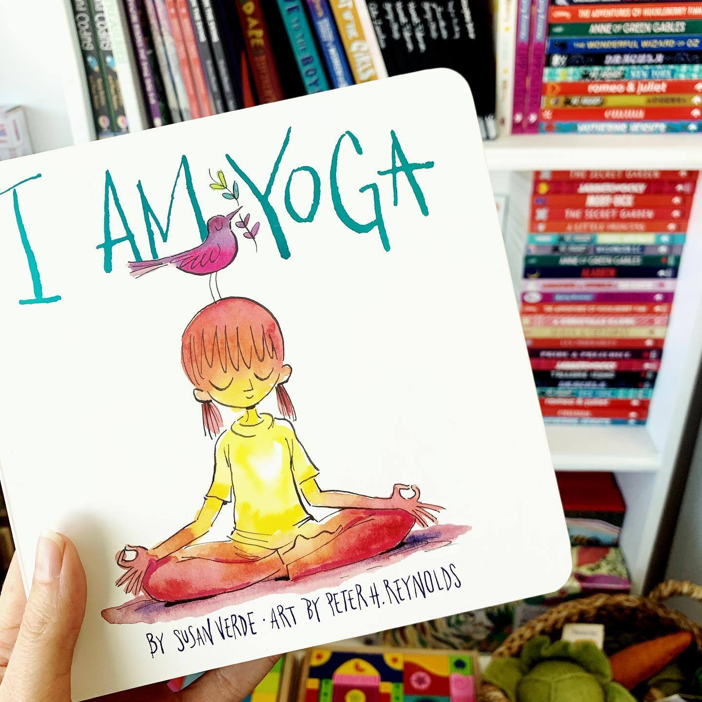 I Am Yoga Board Book Little Earth Nest Books at Little Earth Nest Eco Shop